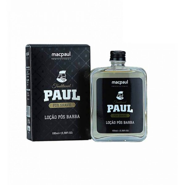 Loção Pós Barba Traditional Paul 100ml