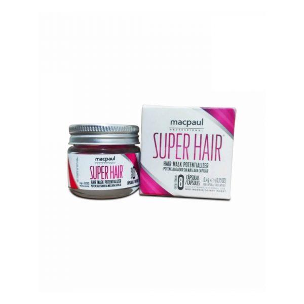 Super Hair capsulas potencializadoras Macpaul