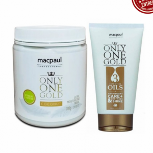 Kit coconut only one gold profissional Macpaul